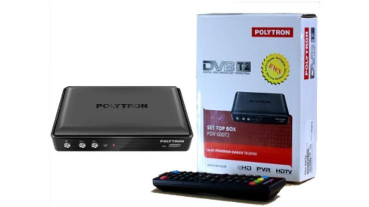 Set Top Box TV Digital Terbaik Polytron PDV 600