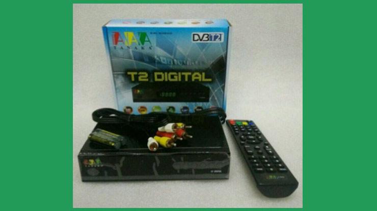Set Top Box Tanakan DVB T2