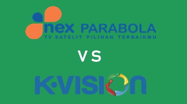 Siaran Favorit Nex Parabola Vs K Vision 1