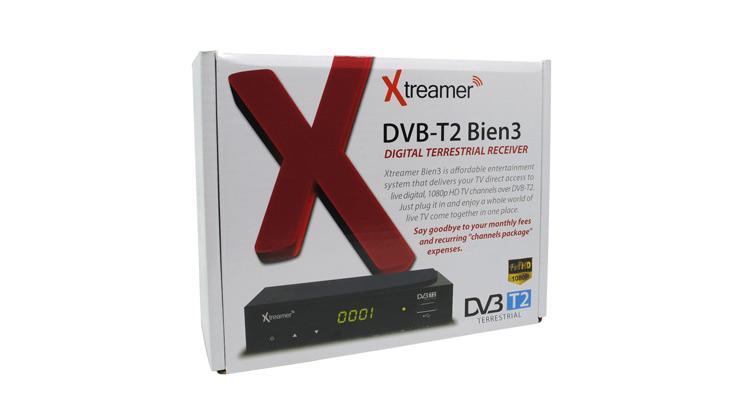 Xtreamer BIEN 3 Set Top Box DVB T2