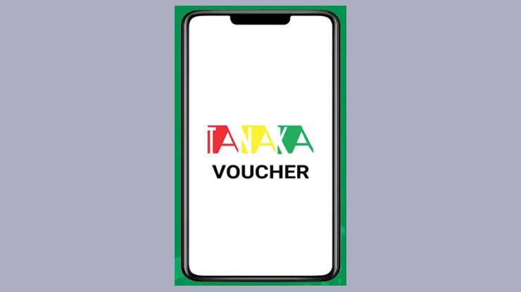 buka aplikasi Tanaka Voucher