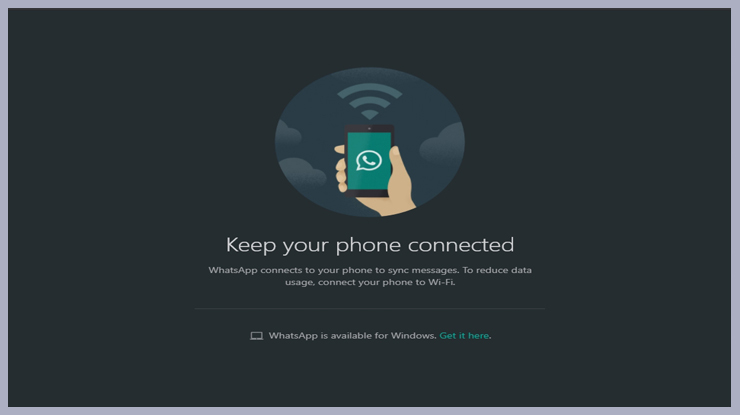 buka aplikasi Whatsapp