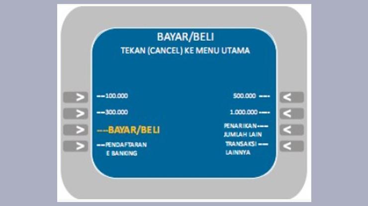 muncul pilihan pembayaran pilih BayarBeli