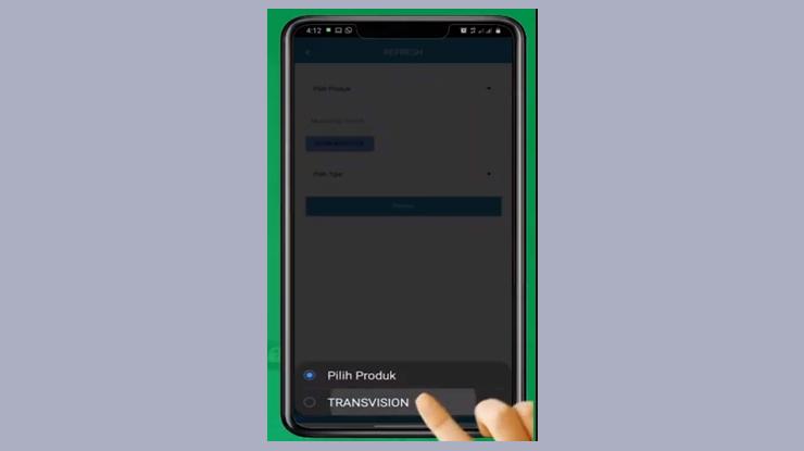 pilih Provider Transvision