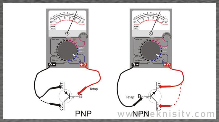 Cara Menentukan Transistor NPN dan PNP
