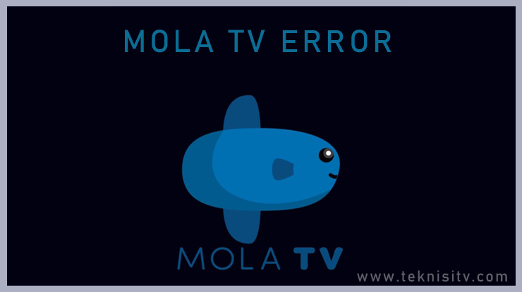Cara Mengatasi Mola TV Error