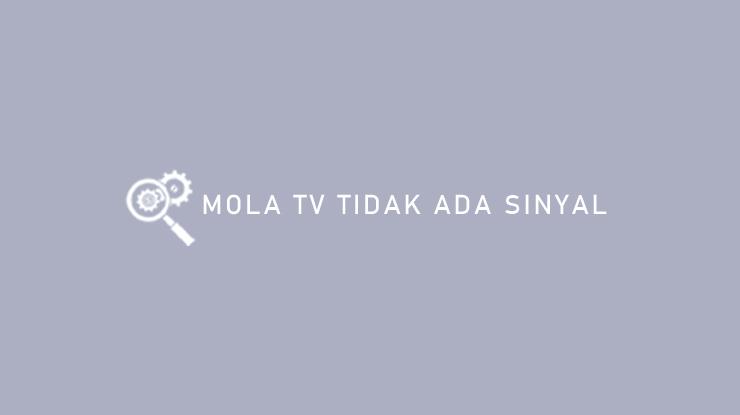 Mola TV Tidak Ada Sinyal