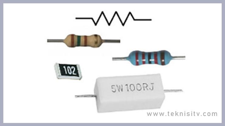 Resiator Tetap Fixed Resistor