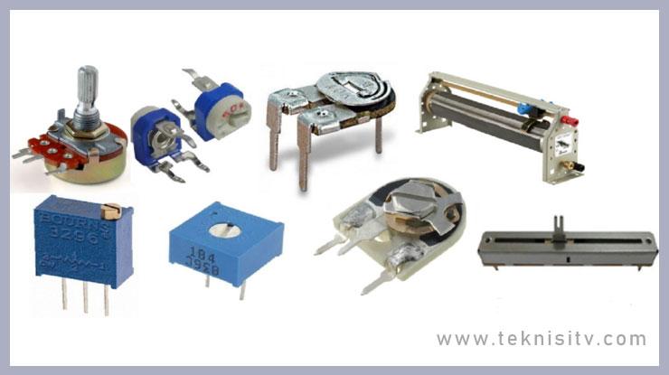 Resistor Tidak Tetap Variable Resistor