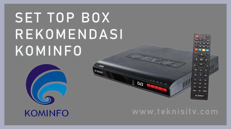 Set Top Box Rekomendasi Kominfo.