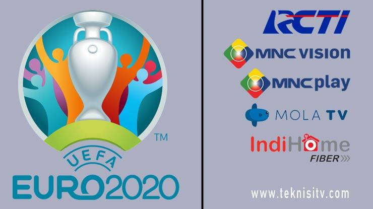 Siaran TV Yang Siarkan EURO 2020 di Indonesia.