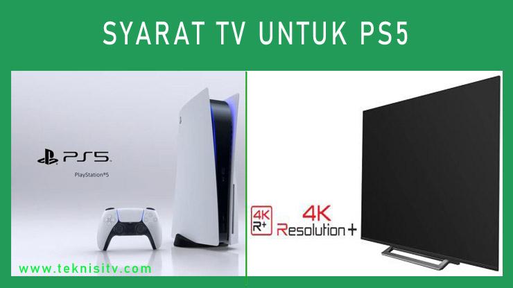 Syarat TV Untuk PS5 1