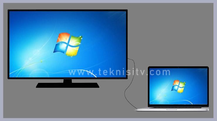 Beberapa Cara Menghubungkan Laptop Ke TV