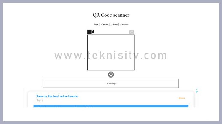 Cara Scan Barcode Online Tanpa Aplikasi