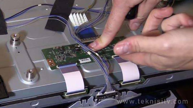 Memperbaiki TV LED LG Layar Gelap