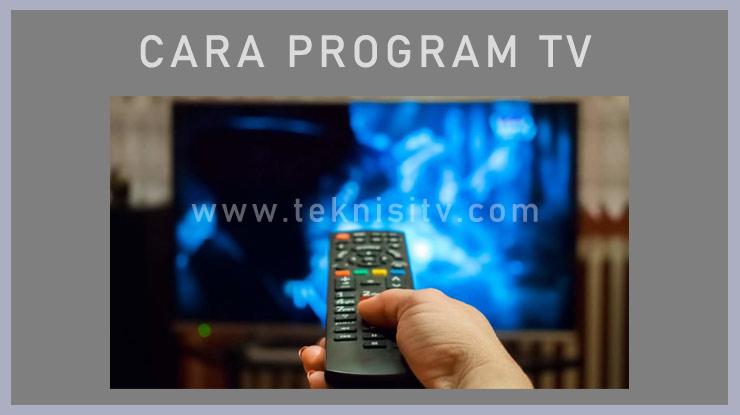 Memprogram Saluran Berbagai merk Televisi