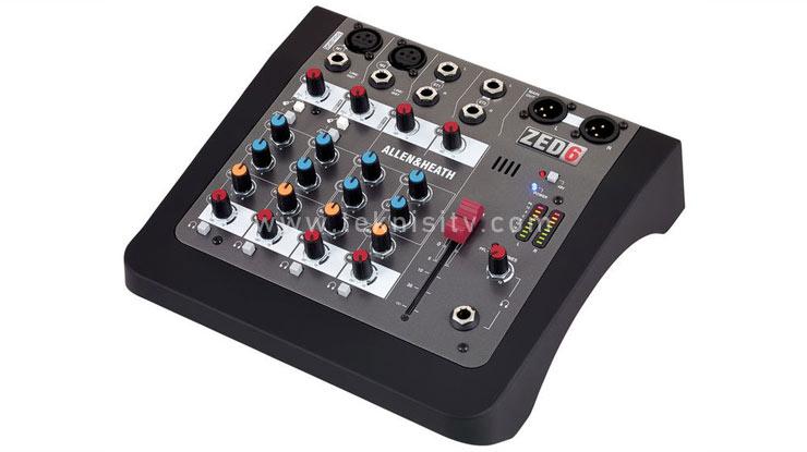 Mixer Allen Heath ZED 6