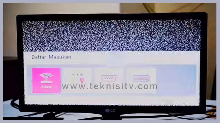 pilih mode saluran TV